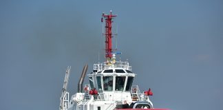The 80t bollard pull Svitzer Saham is now operational at Sohar