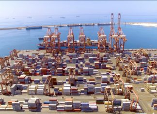 Container traffic at Salalah port in Oman is up 8% compared with the first 9 months of 2019