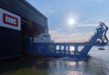 Suez Canal dredger launched