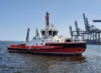 Sohar has now received the fifth and last new tug that will upgrade towage capabilities in the port
