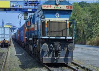 JNPT set a new record handling 545 trains in October