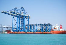 Additional cranes arrive at Red Sea terminal