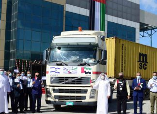 DP World welcomes the first containers to arrive from the Israeli port of Ashdod