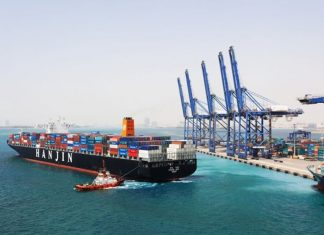 Container traffic is picking up again at Jeddah port