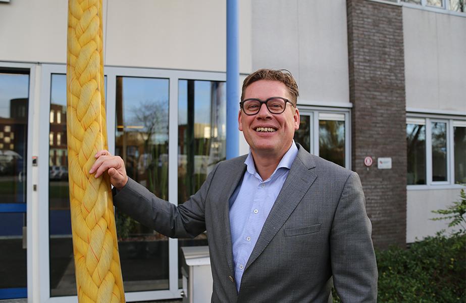 Wilco Stroet, managing director, Lankhorst Ropes