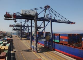 Aqaba Container Terminal consolidated its position as a key gateway for Levant trade