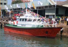 Colombo yard launches pilot boats