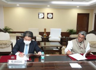 The signing of the MOU between MOL and IWAI to enable LPG cargos to be transported on inland waterways.