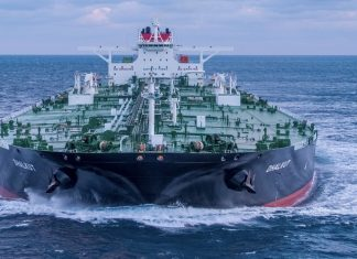 The newly delivered VLCC Dhalkot
