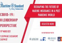 TMS WEBINAR SERIES 14 – Reshaping the Future of Marine Insurance in a Post Pandemic World