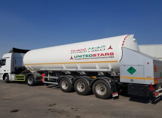 One of United Stars' cryogenic tankers