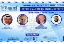 TMS Webinar Series 15 – Putting seafarer mental health at the top of the agenda