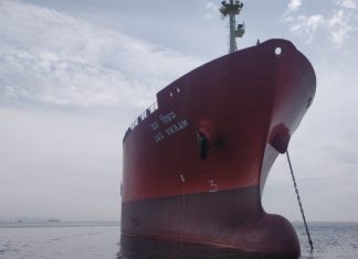 The newly acquired LPG carrier Jag Vikram