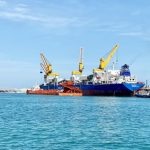 Safeen has begun transshipment services for Emirates Steel