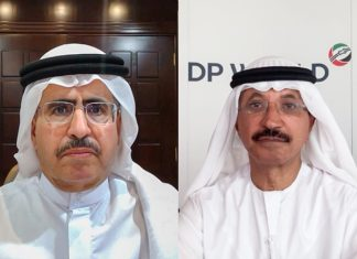 A Memorandum of Understanding was signed during a virtual ceremony in the presence of H.E. Saeed Mohammed Al Tayer, MD & CEO of DEWA, and H.E. Sultan Ahmed Bin Sulayem, Group Chairman and CEO, DP World.