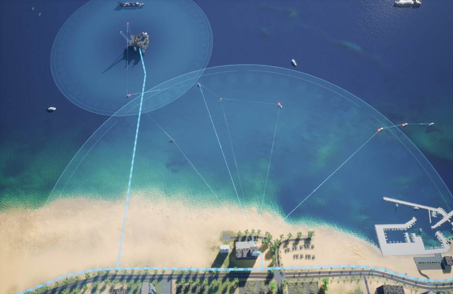 Elcome and Broadcast Solutions are optimistic about the potential of maritime mesh networks