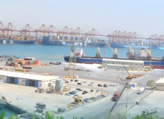 Salalah's general cargo terminal has seen a significant increase in traffic over the first quarter of this year