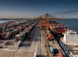Container traffic at Saudi ports is increasing strongly