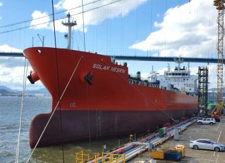 Tristar has been strengthened by the delivery of all six of its new build Project Solar tankers