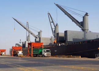 Steel product handling underway at King Abdullah Port