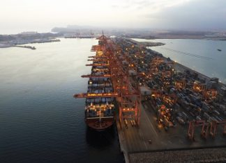 Salalah in Oman has been ranked as one of the top ten most efficient ports in the world