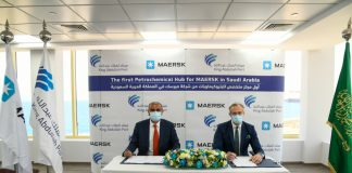 The agreement was signed by Mohammad Shihab, Managing Director of Maersk Saudi Arabia, and Jay New, CEO of King Abdullah Port, in a ceremony held at King Abdullah Port. The signing ceremony was attended virtually by Richard Morgan, Regional Managing Director for Maersk West & Central Asia.