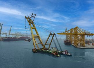DP World, UAE Region successfully transported four reactors from Jebel Ali Port to Rotterdam handled with the help of a floating crane from Drydocks World, in collaboration with the CMA CGM Group