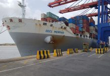 Maiden call at APM Terminals Pipavav