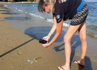 GAC is joining forces with Eyesea to help map marine hazards and pollution using a new app