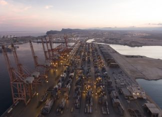 Salalah port is experiencing disruption to its container networks