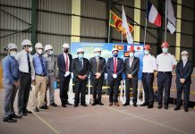 Cable layer construction starts at Colombo Dockyard