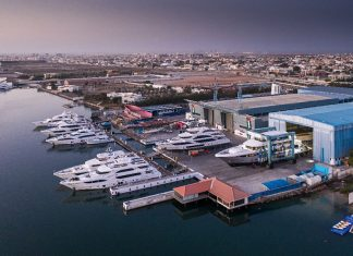Gulf Craft's yard in Umm al Quwain has been kept busy this year