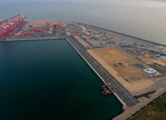 Haifa Bay is now operational following an opening ceremony conducted in both China and Israel