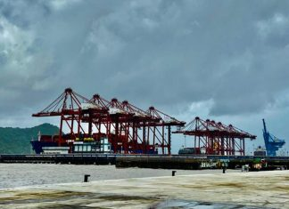 Container volumes moving through JNPT are on the rise
