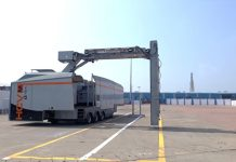 New container scanner for Paradip port