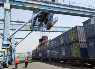 Last month JNPT handled its first dwarf container double stack train