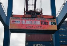 ICTSI Pakistan hits milestone